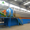 2016 newest technology 380V 50HZ continuous waste tire pyrolysis machine