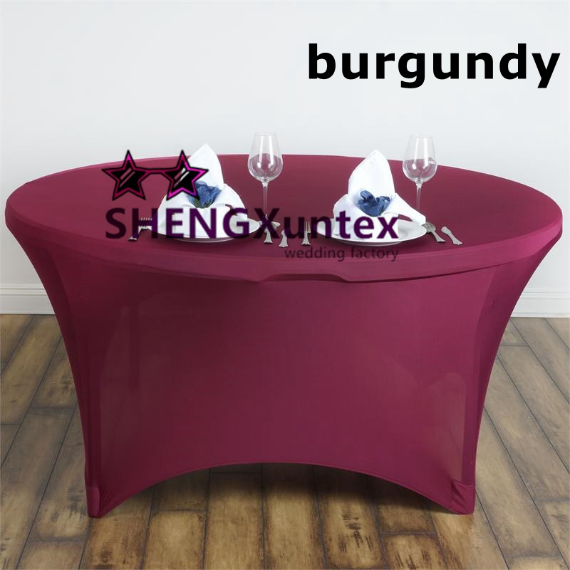 Strong Pocket Lycra Spandex Table Cover Table Cloth For
