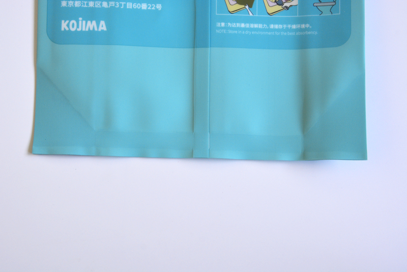 high quality back sealing plastic packaging bag for cat litter custom-made with logos