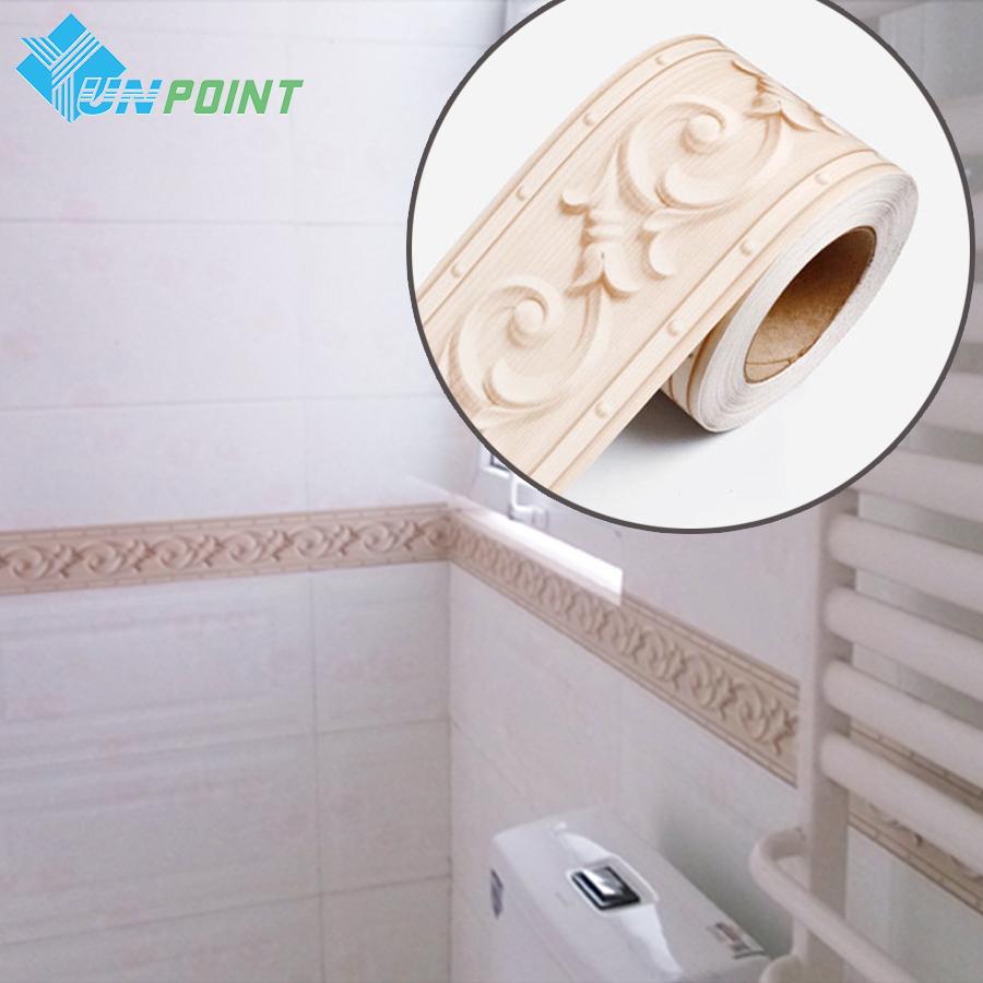 Waterproof Bathroom Walllpaper: Wallpaper Kitchen Borders Promotion-Shop For Promotional