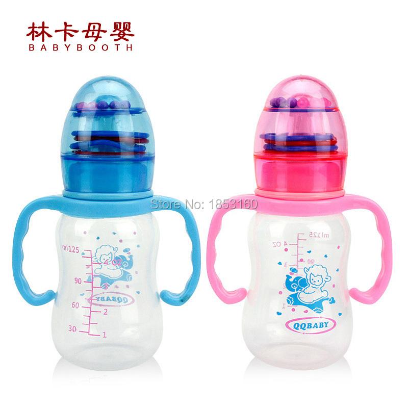 250 мл кормление бутылка PP бутылки с ручкой стандарт калибра рожок автоматическая сосков с грудное молоко бутылка