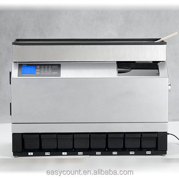 High Quality Best Price EC98 Euro Coin Counter/Coin Sorter
