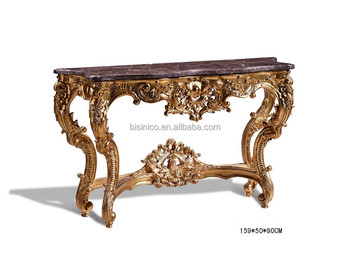 Nice Exquisite Hand Carved Console Table, Luxury Home Decorative Wooden Furniture  (BF01 DC001)