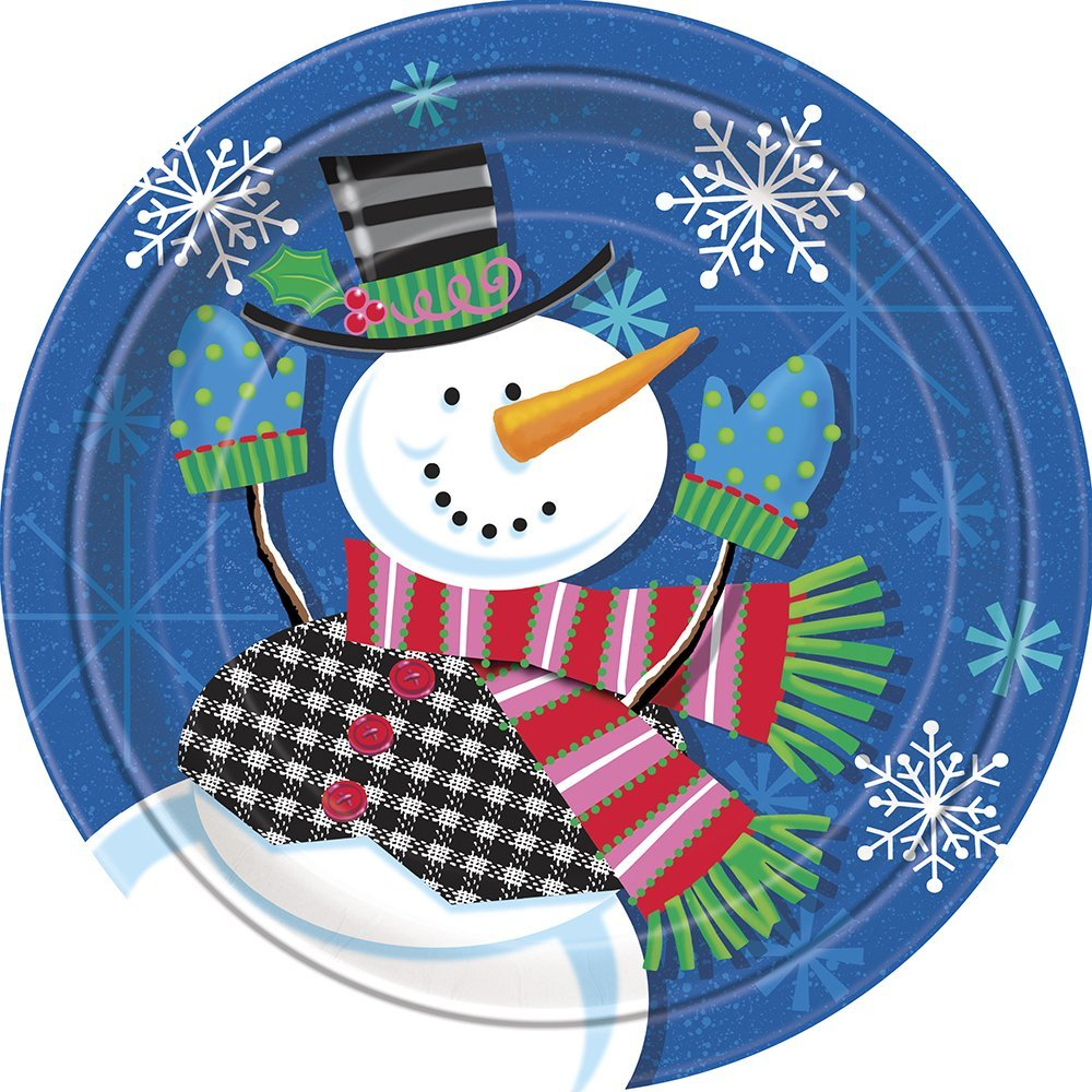 Get Quotations · Jolly Snowman Holiday Dinner Plates 8ct  sc 1 st  Alibaba & Cheap Snowman Dinner Plates find Snowman Dinner Plates deals on ...