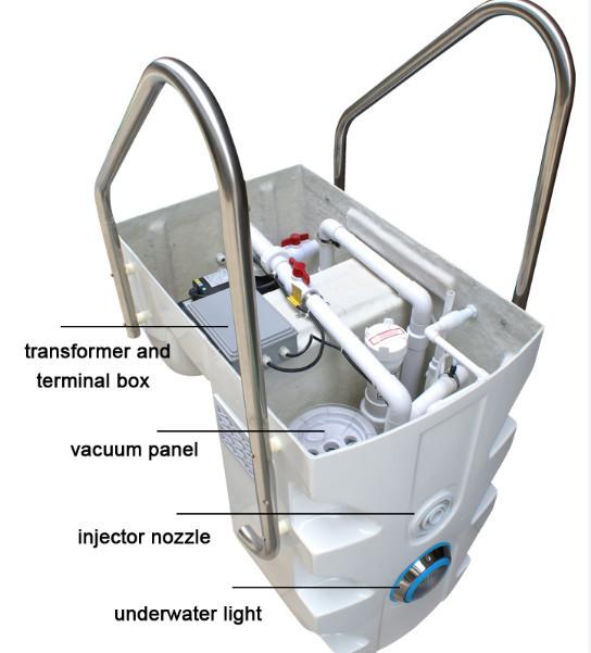 Китай бассейн оборудования поставщика Pipeless настенный Pipeless бассейн фильтр