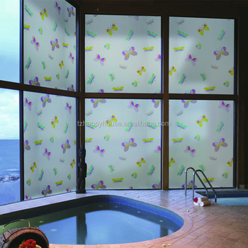 Arts And Crafts Stained Gl Window Film