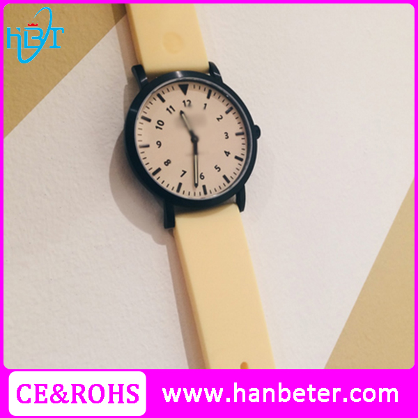 simple style high quality two hands your own brands famous men watches
