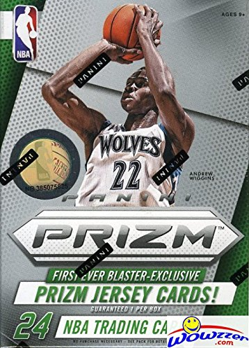 b1ecce66624 Get Quotations · 2014 15 Panini Prizm NBA Basketball Factory Sealed Retail  Box with EXCLUSIVE PRIZM JERSEY CARD