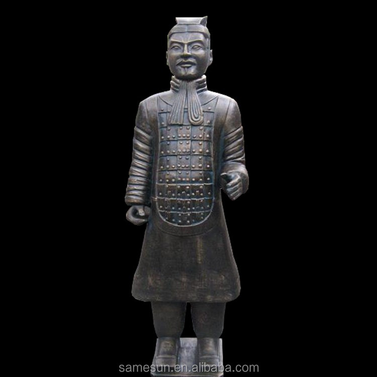 Great Chinese Ancient Terracotta Warrior Garden Statue