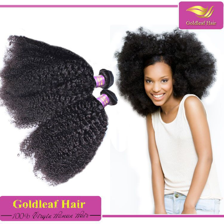 New Products 2016 Afro Style Hair Extension Real Malaysian Natural
