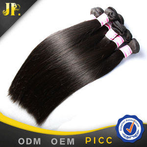 JP Hair one donor can be dyed 7A grade brazilian hair natural color premium hair extension