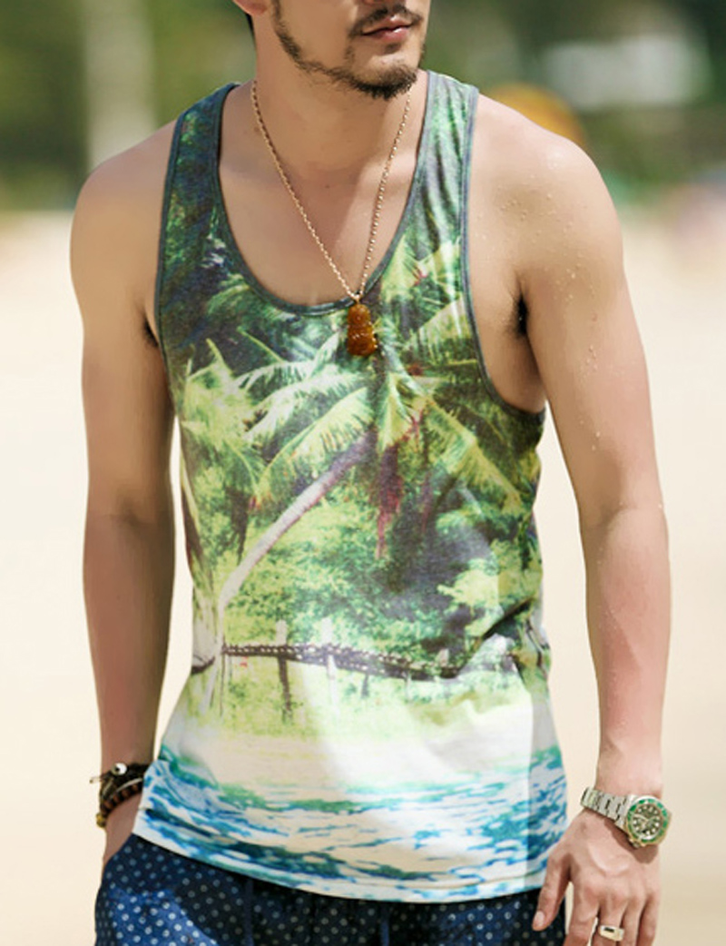 Jun 23, · Solid, striped, and printed tank tops for men to sport all summer bloggeri.tkon: 4 New York Plaza,