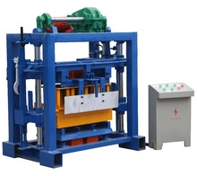 QTF40-2 small scale industrial cement hollow block machine for home business