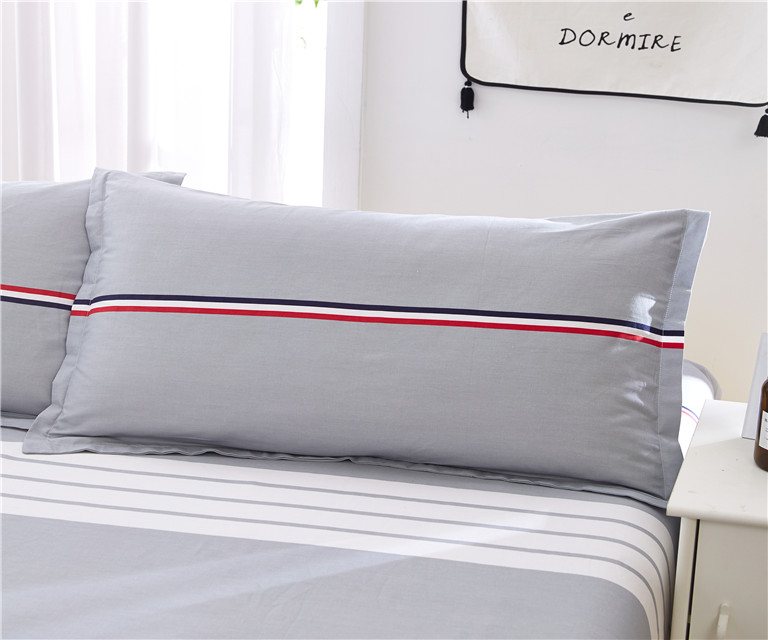 100% Cotton jersey Pillow cover /pillowcase customized size and waterproof available