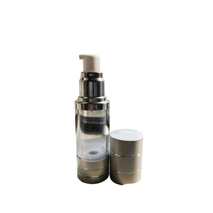 50g As Plastic Skincare cream cosmetics packaging and cosmetics gold airless bottle pack
