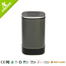 High Quality Tablet speaker pillar full metal housing bluetooth music speakers