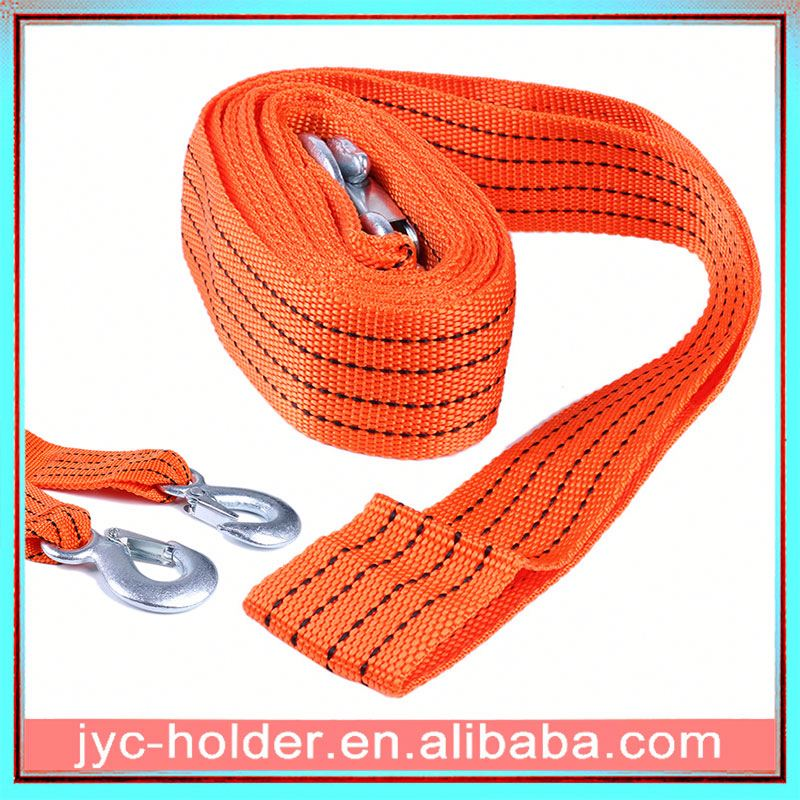 Vehicle recovery strap H0T2tj car strap with hook
