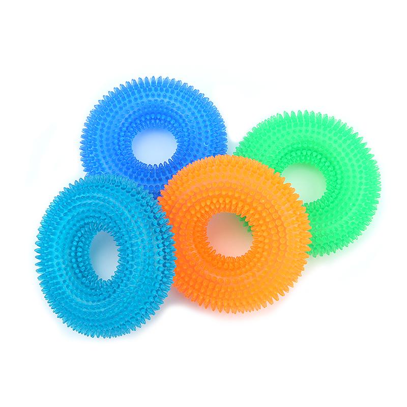 Juguete circular masticable para mascota 7