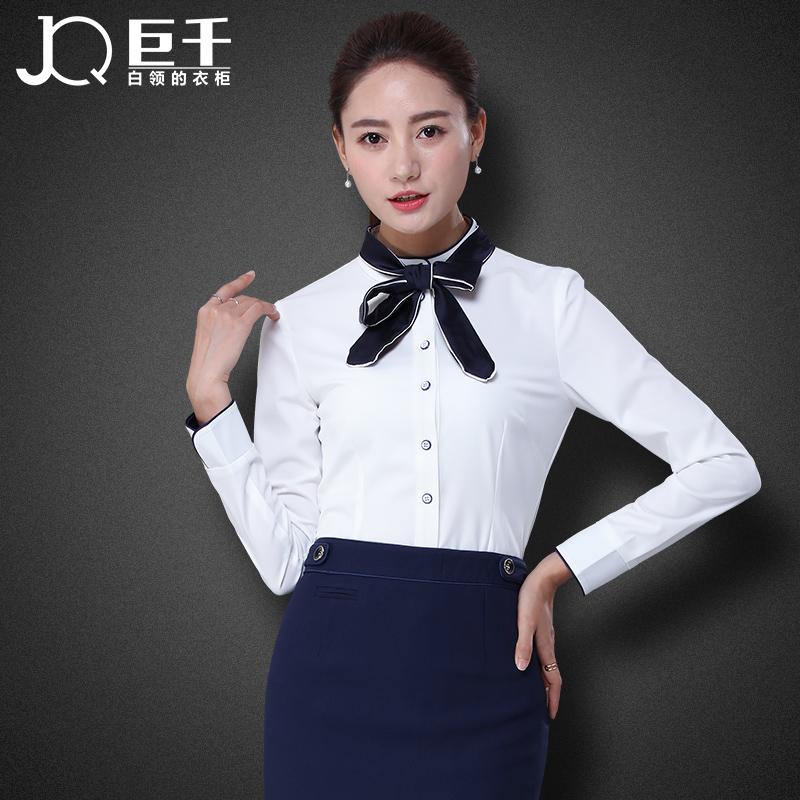 Venta al por mayor estilos de blusas elegantes compre Diseno de uniformes para oficina 2017