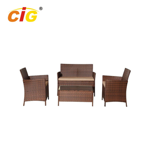 CE Approved Classic Design outdoor furniture plastic rattan