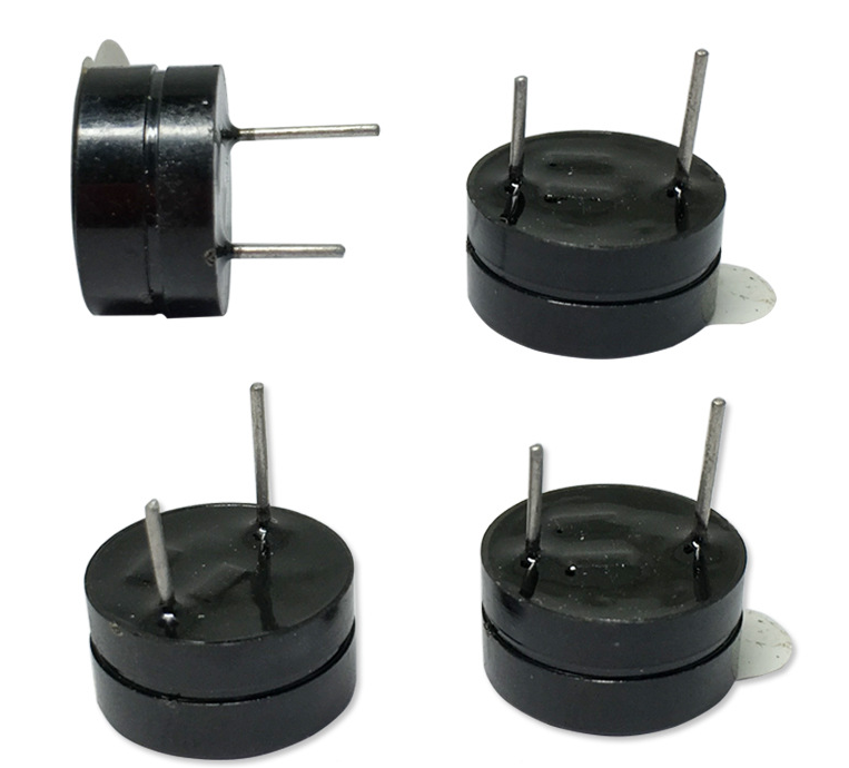 High quality buzzer unit 12mm 5v 12v piezo buzzer