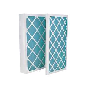 G4 paper pleated Merv HVAC panel Filters for industrial ventilation system