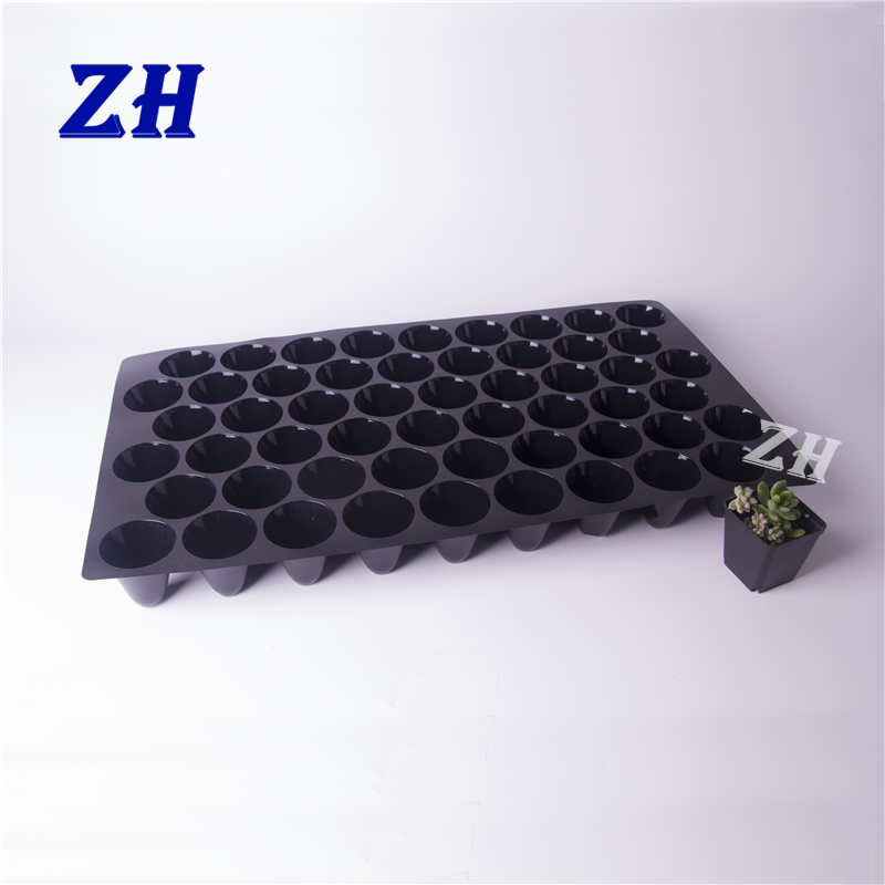54 cell biodegradable plastic vagetable plant seed nursery tray