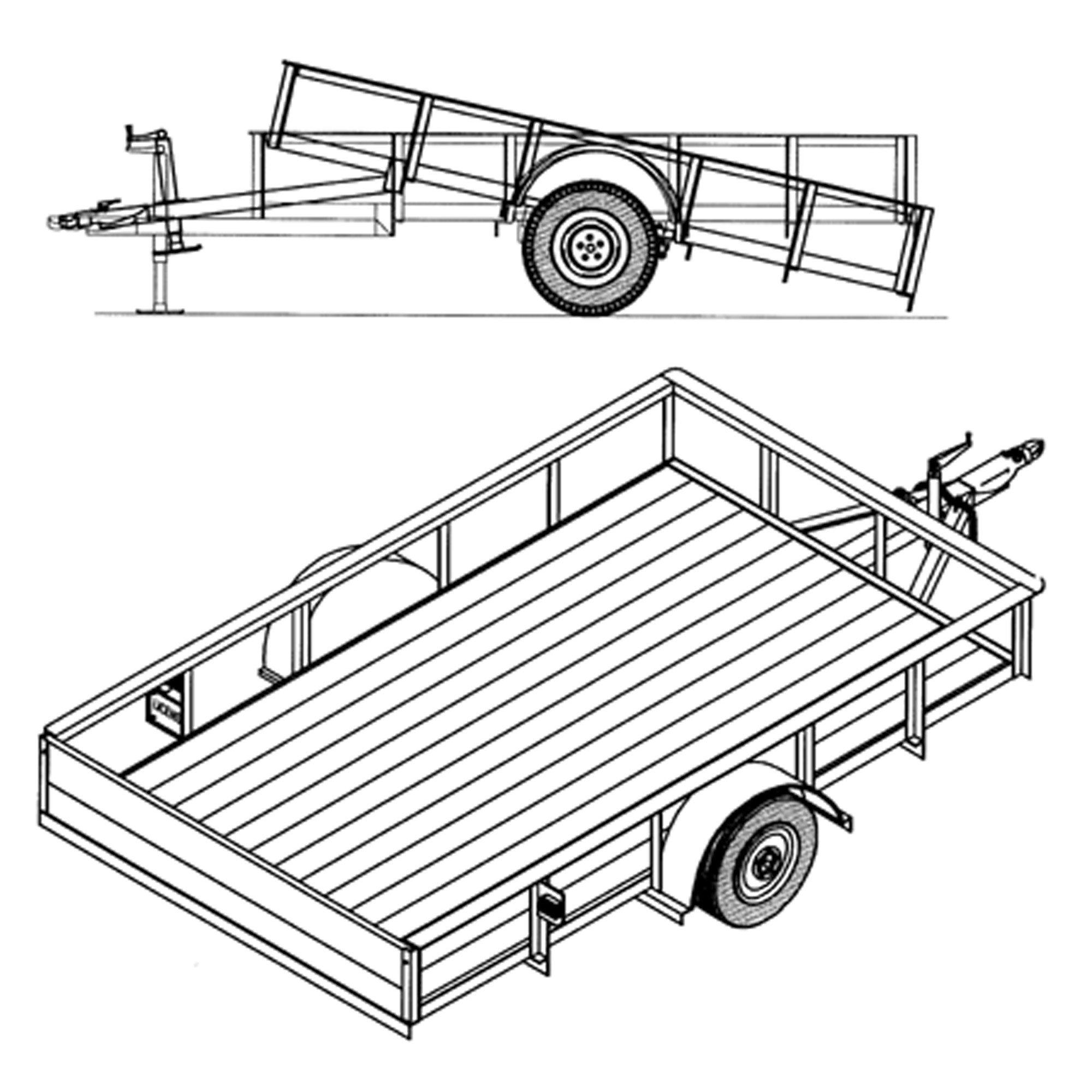 Cheap tilt equipment trailer find tilt equipment trailer deals on get quotations 6 4 x 10 utility tilt trailer plans blueprints malvernweather Images