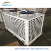 Air cooled condensing unit with air compressor