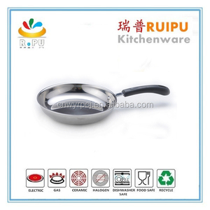 High quality stainless steel 12pcs cookware with 5 layers buttom triply stainless steel cookware heavy duty cookware protectors
