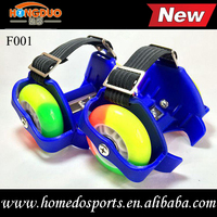 flashing roller skate with Stainless Steel Buckle