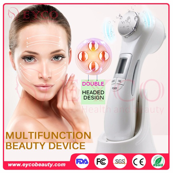 2017 Newest Unique Oem 6 In 1 Multifunction Electronic Facial Face Beauty Device