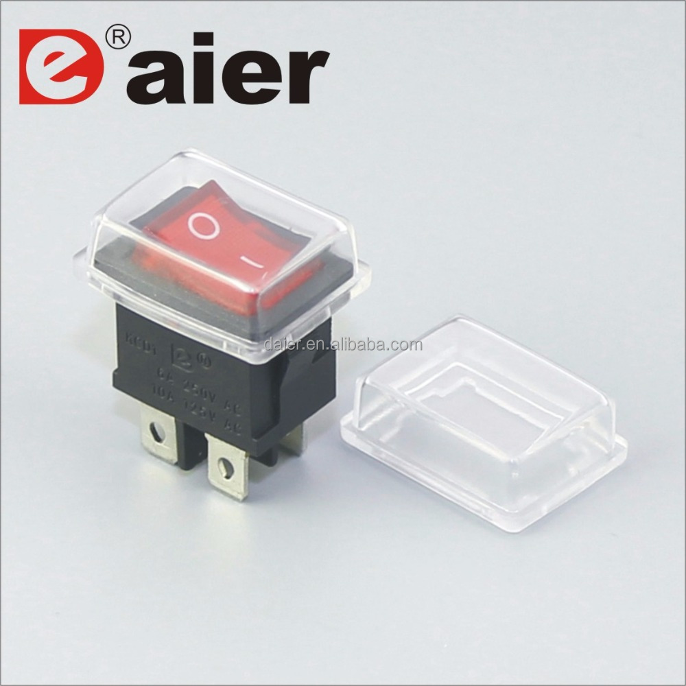 Waterproof Cap Rocker Switch Suppliers Spst Weatherproof Round Switches And Manufacturers At