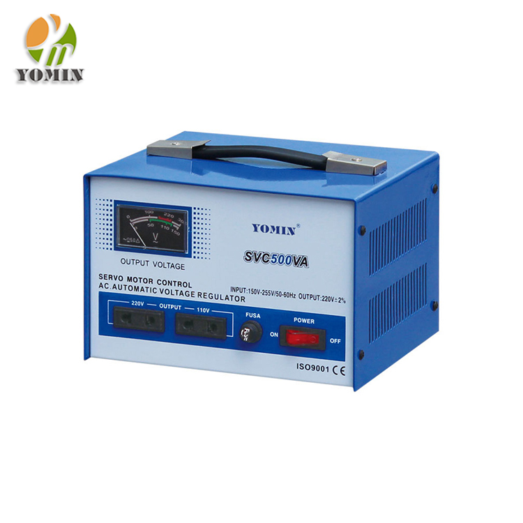 Single phase SVC 5kva servo controlled voltage stabilizer circuit/industrial stabilizer