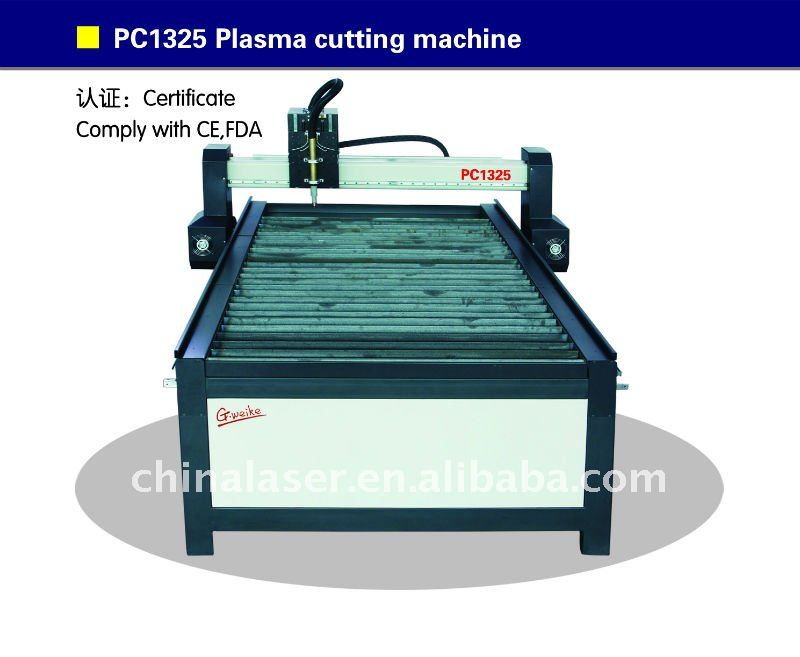 PC1325 plasma cutting engraving curving machine