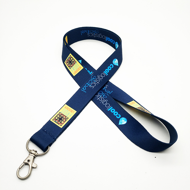 wholesale fashion custom printed neck lanyard