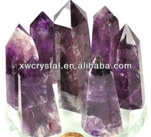 Natural Rock Amethyst Crystal Column/Point AP2