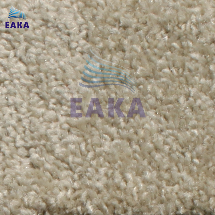 EAKA machined tufted soft cut pile for floor use broadloom cheap 100% pp shaggy carpet