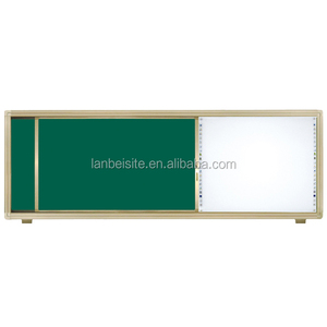 sliding writing lacquer green board,magnetic whiteboard for school use