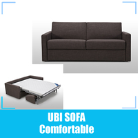 Fabric sleeping sofa bed/ floding sofa bed/ hotel sofa bed