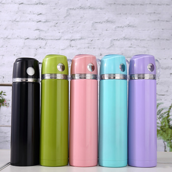 Children School Thermos Flask Draw And Label A Vacuum Flask