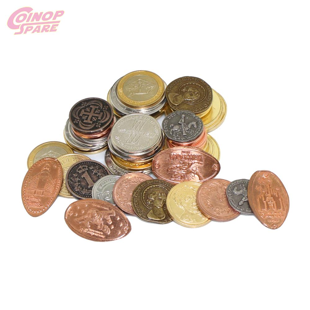 Low Price Of China Manufacture Custom Silver Gold Coin