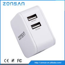 double port usb 4.8a super fast portable usb travel charger adapter