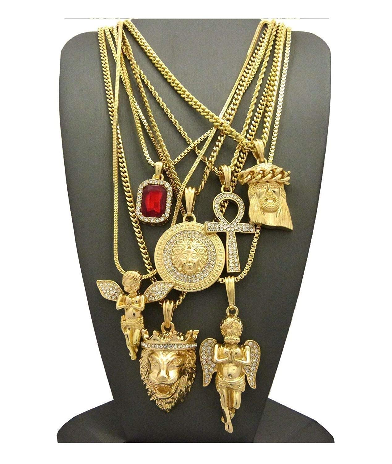 Buy Lord Jesus Pendant And Necklace Medallion Hand Cut 14 Karat Gold And Rhodium Plated In Cheap Price On Alibaba Com