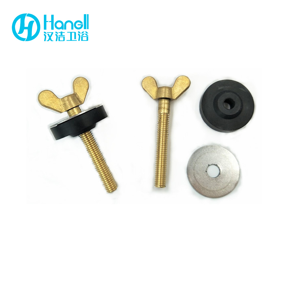 Toilet Cistern Fittings Fix Bolt, Connecting Toilet and Tank Brass Fixing Screw Bolt