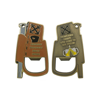 Fashion design High quality Souvenir different types metal beer bottle opener