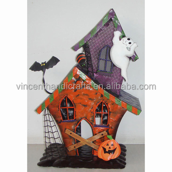 country antique festive humpkin halloween house decoration - Metal Halloween Decorations