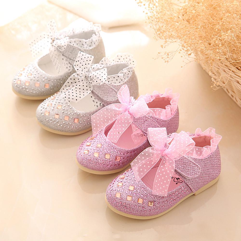2f576135edc0 2019 Fashion Children Shoes Kid Baby Girls Shoes Princess Flats ...