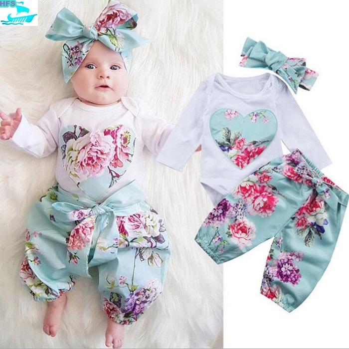 f6856cc83ca8 Se258 Fancy Floral Baby Clothes Wholesale Baby Girls Boutique ...