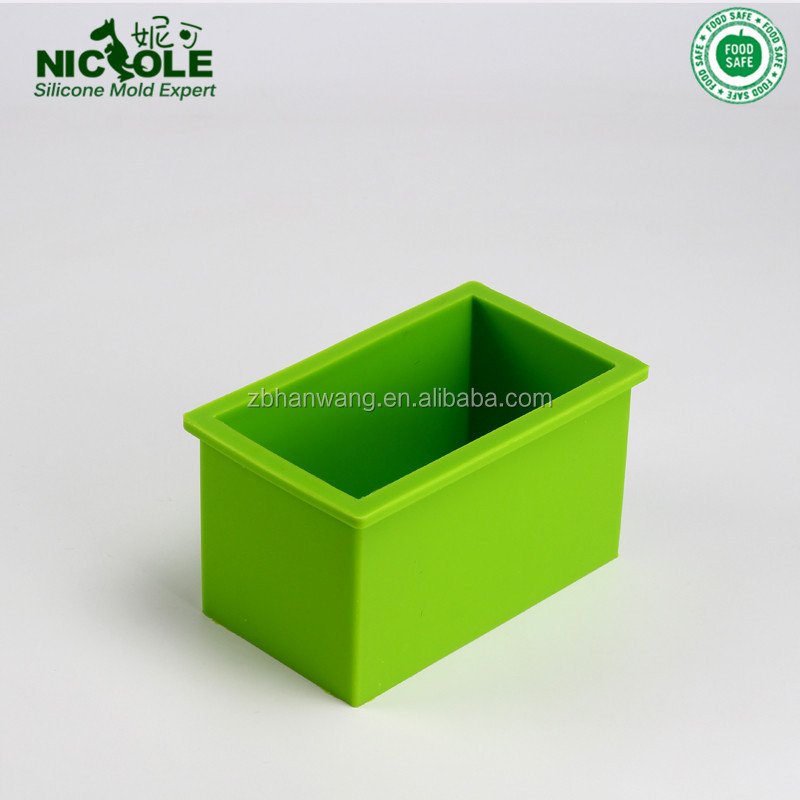 Nicole Eco-friendly Silicone Handmade Loaf Silicone Soap Mould